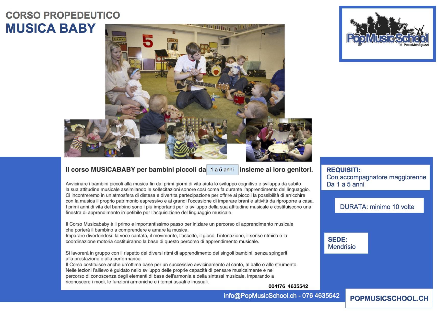 12 - NUOVO FASCICOLO MUSICA BABY